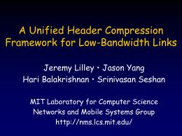 lMobicom talk - Massachusetts Institute of