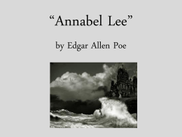 "Elements of Figurative Language in ""Annabel Lee"""