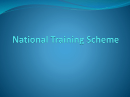 Civil Service Training Policy and Practice in