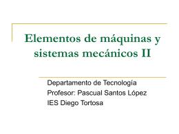 Elementos de máquinas y sistemas