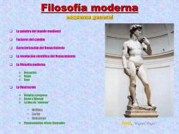 Filosofía moderna - quienquieralapas