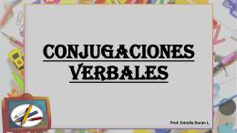 Tiempos verbales - Colegio Monte de Asís