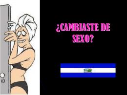 ¿CAMBIASTE DE SEXO? - ahuachapan,el salvador