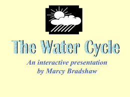 The Water Cycle - Utah Education Network