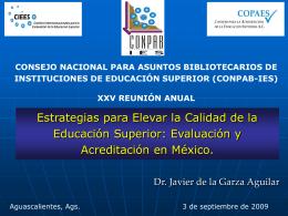 Presentación de PowerPoint - CONPAB-IES