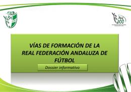 NUEVO MODELO DE FORMACIÓN DE LA RFEF