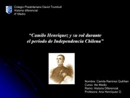 """Camilo Henríquez: un patriota por antonomasia"""""""
