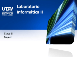 Laboratorio Informática II