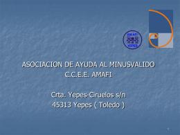 CENTRO OCUPACIONAL - CEP de Lora del Río