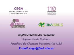 Centro de Educación y Gestión Ambiental- CEGA-