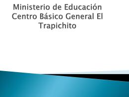 Ministerio de educación centro básico general