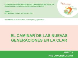 I CONGRESO LATINOAMERICANO Y CARIBEÑO DE NUEVAS