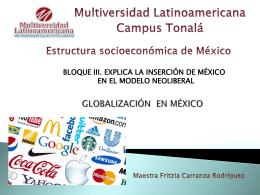 GLOBALIZACION EN MÉXICO