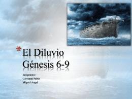 El Diluvio Génesis 6-9