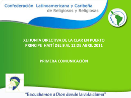 Diapositiva 1 - clar.org :: Confederación