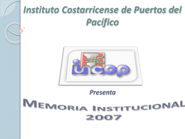 Instituto Costarricense de Puertos del Pacífico