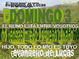 evangeli - FERE-CECA-Andalucía | Blog de Pastoral
