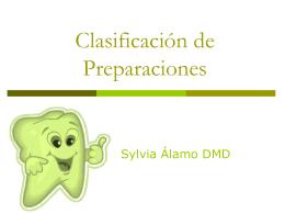 Clasificación de Preparación