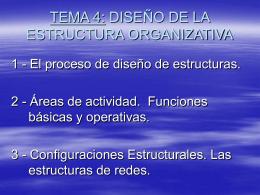 El proceso de diseño de estructuras