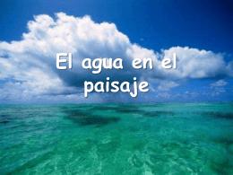 El agua en el paisaje - plumierCMedio 4º E. P. |