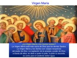 La Virgen María - PALABRA DE DIOS 2015