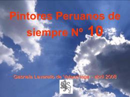 10 PINTORES PERUANOS Nº 10