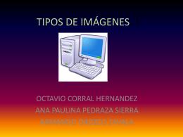 TIPOS DE IMÁGENES..!