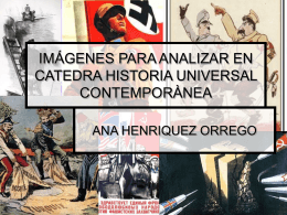 IMÀGENES PARA ANALIZAR EN CATEDRA HISTORIA