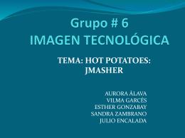 Grupo # 6 IMAGEN TECNOLÓGICA