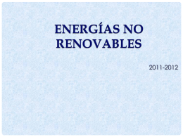 Formas de energía alternativas