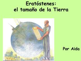 Eratóstenes: el tamaño de la Tierra