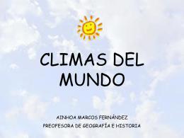 CLIMA Y SERES VIVOS - geografiaeducativa.jimdo.com