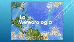 Meteorologia e hidrologia