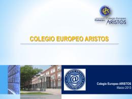 Presentación de PowerPoint - Aristos