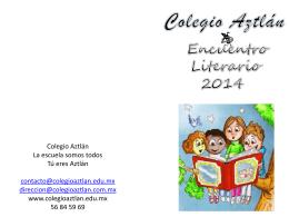 Diapositiva 1 - Colegio Aztlán