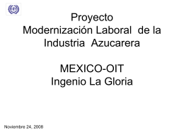 Proyecto Modernización Laboral de la Industria