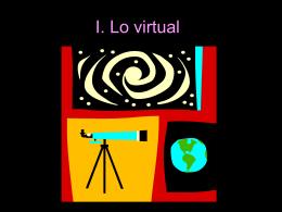 ¿Qué es lo virtual??