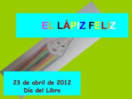 EL LÁPIZ FELIZ - Fundación Federico Fliedner -
