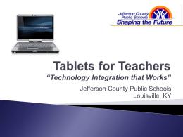 Tablets for Teachers 2010 - Larry Cuban on School