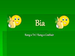 Bia - Seomra Ranga