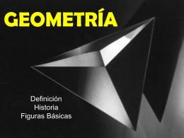 GEOMETRIA - Mundo de la Geometría