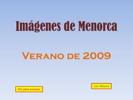 Imágenes de Menorca