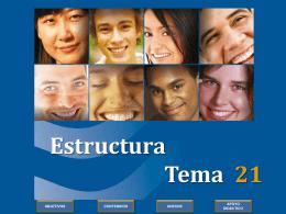 Estructura Tema 1 - Formación en la Fe