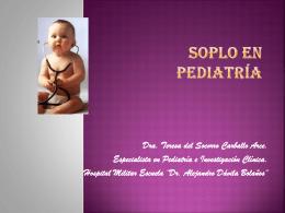 Soplo en Pediatría