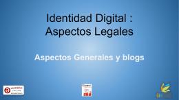 Presentación Leyes y Blogs