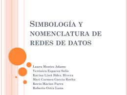 Simbología y nomenclatura de redes de datos
