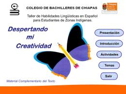 Taller de Habilidades Lingüísticas en Español para