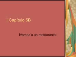 I Capítulo 5B
