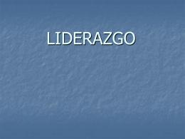 LIDERAZGO - Poder Judicial de Neuquén.