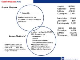 Gastos Medicos Multiprotección